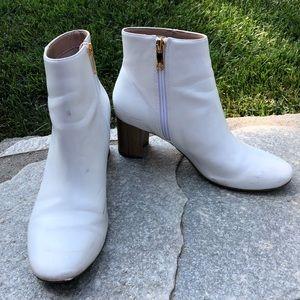 white kurt geiger bootie